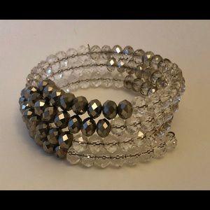 Beaded Bracelet - Wraps around wrist